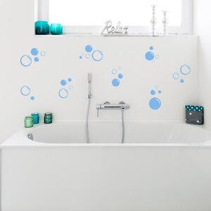 Wandkings Wandtattoo 30 Seifenblasen Set Badezimmer Grosse