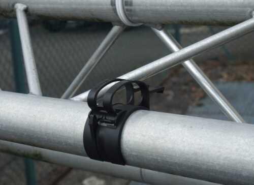 Befestigungs Klammer 10 x SNAP Kabel Bügel mit Halterung für Steckdosen schwarz