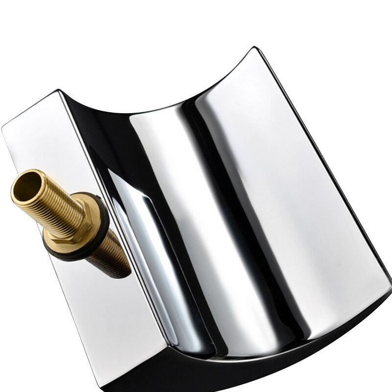 Wasserfall Wannenarmatur Badwannenarmatur Wasserhahn 5 5 5 Loch Duschkopf Duschset | Einfach zu bedienen  | Moderne Muster  | In hohem Grade geschätzt und weit vertrautes herein und heraus  | New Products  17b4af