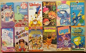 A-Lot-Of-12-Kids-And-Family-Cartoons-On-VHS