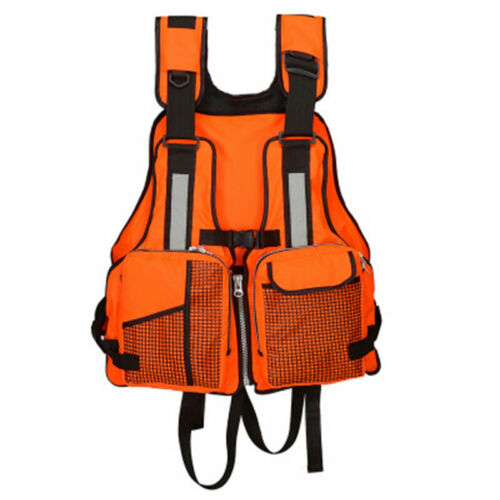 Adult Adjustable Life Jacket Buoyancy Sailing Kayaking Canoeing Fly Fishing Vest