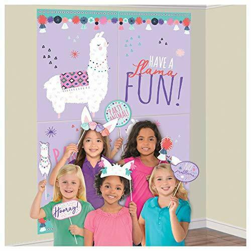 Halloween Fun Line Up Wall Scene Setter Decoration /& Selfie Photo Booth Props