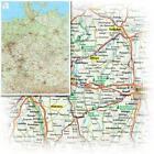 Bacher Straßenkarte Deutschland, Mini-Posterkarte, plano (2002, Karte)