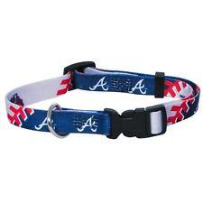 Hunter MFG Atlanta Braves Dog Collar, Large