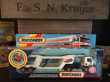matchbox super kings K-120A Rare 1.Version mint OVP mint from 1986