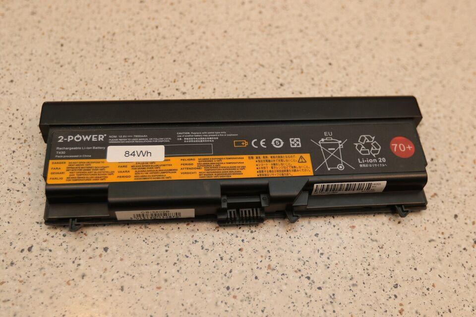 Lenovo 9 cellet batteri til Lenovo T430, God