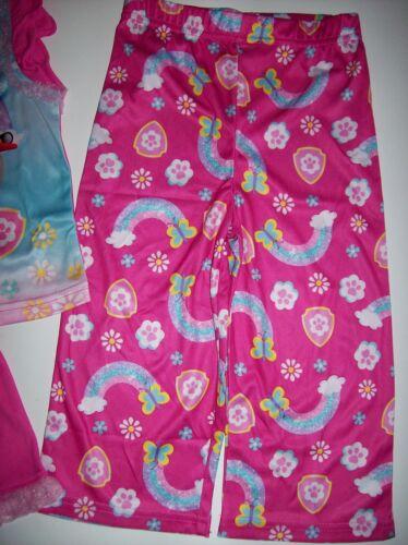 Paw Patrol Sleepwear Girls 3pc Pajama Set Select 2T 3T 4Toddler Paw Prints NWT