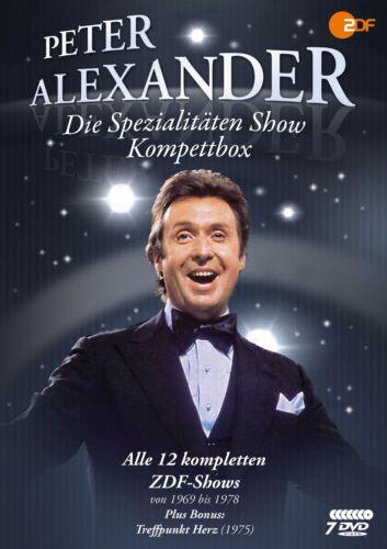 1 von 1 - Die Peter Alexander 'Spezialitäten' Show - Komplettbox - Alle 12 Shows [7 DVDs]