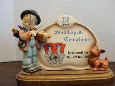 HUMMEL DISPLAY PLAQUE PUPPY LOVE JAHRE STADTKAPELLE KREISMUSIK FEST
