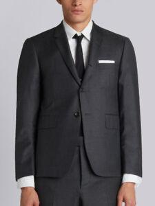 7f0e2d1195ba NWOT New Thom Browne Classic Grey Suit Jacket Blazer Sport Coat Size ...