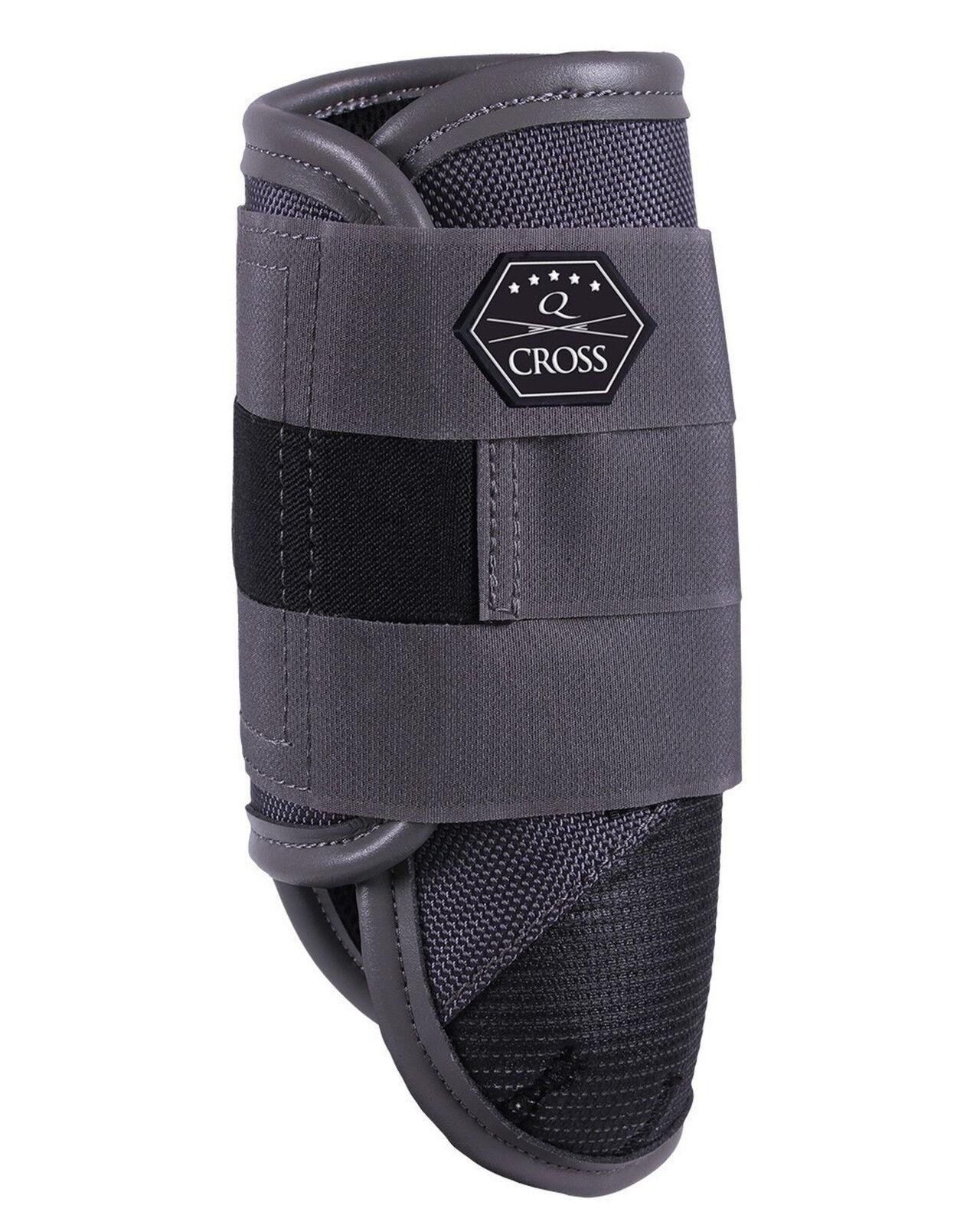QHP Vielseitigkeit Kevlar Mikrofas -Leder Line Q-Cross vorne