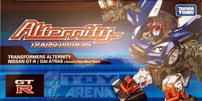 Transformers alternity A-01 Dai Atlas atras Asia  Exclusive NISSAN GT-R bleu  livraison rapide