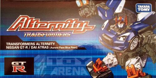 Transformers Alternity A-01 Dai Atlas Atras Asia Exclusive Nissan GT-R Blue