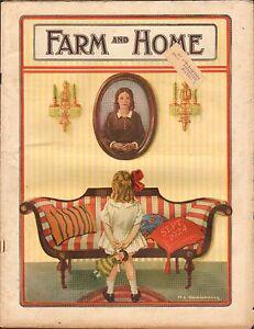 SEPT-1924-FARM-AND-HOME-farming-magazine-GIRL-w-DOLL-FURNITURE