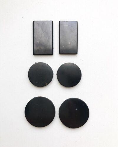 Shungite Sticker Plate for Phone Schungit Pendants 3 pcs EMF Protection