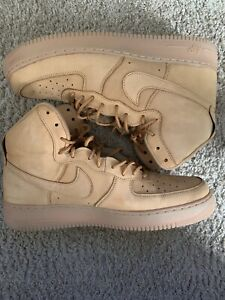 Nike Air Force 1's High size 13 Wheat