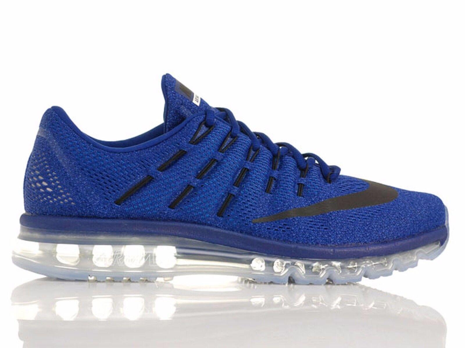 Nike air max 2016 profondo blu reale / cieli blu / foto blu 806771 401 Uomo sz