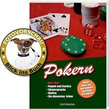 POKERN - Texas Hold' em und andere (Regeln Körpersprache Bluffen Fehler Lexikon)