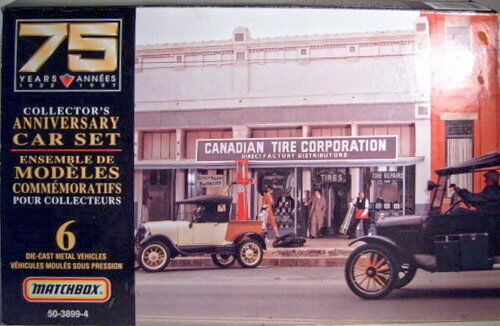 MATCHBOX SUPERFAST  Canadian TYRE Corporation  Giftset