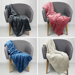 NEW-Odyssey-Living-Super-Soft-Plush-Throw-Rug-Cuddly-amp-Warm-4-Colours