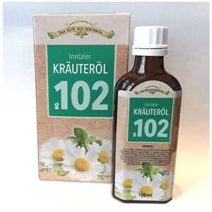 2-x-Inntaler-Kraeuteroel-102-Kraeuter-Ol-Massageoel-Einreibung-Koerperpflege-Mittel