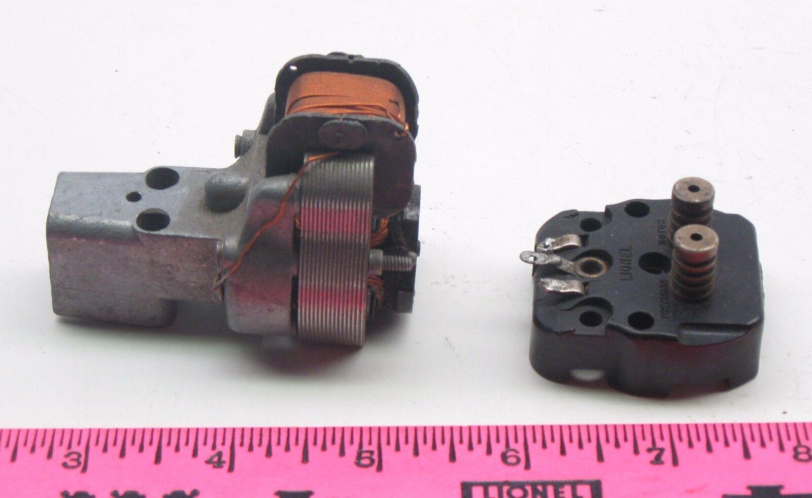 Lionel  power motor  parts