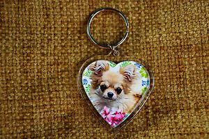 Chihuahua-Gift-Keyring-Dog-Key-Ring-heart-shaped-Birthday-gift-Mothers-Day-Gift