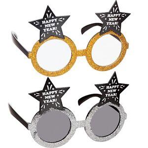 Occhiali Compleanno Glitter Oro Argento Novità 40TH 50TH 60TH Party Bicchieri