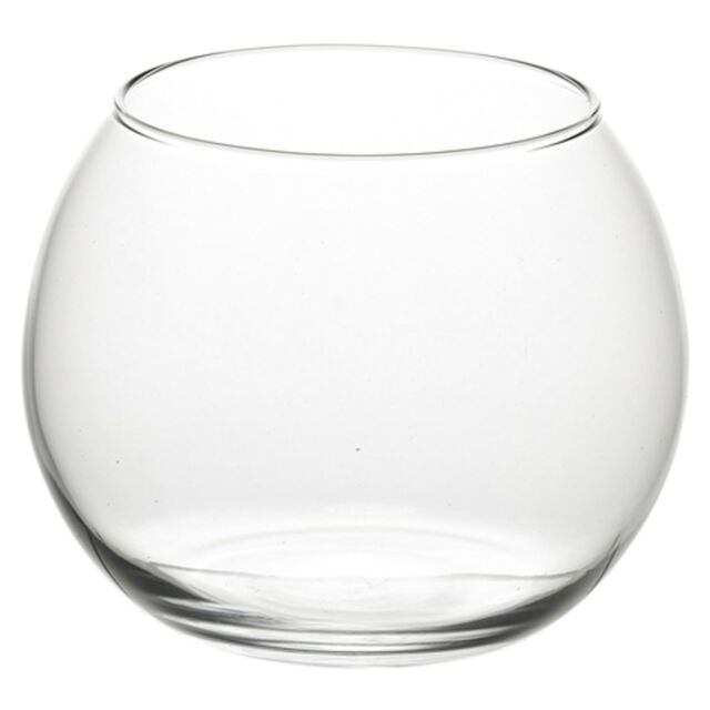 Pasabahce Round Glass Flower Vase Fish Bowl Balloon Centerpiece Wedding GiftBox
