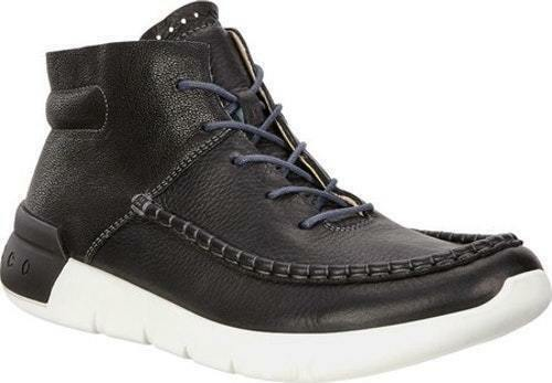 NEW X ECCO Uomo CROSS X NEW MID SNEAKER COMFORT LEATHER BOOTS COMFORT a30bb9