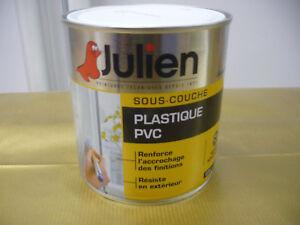 ... JULIEN PEINTURE SOUS COUCHE PLASTIQUE PVC