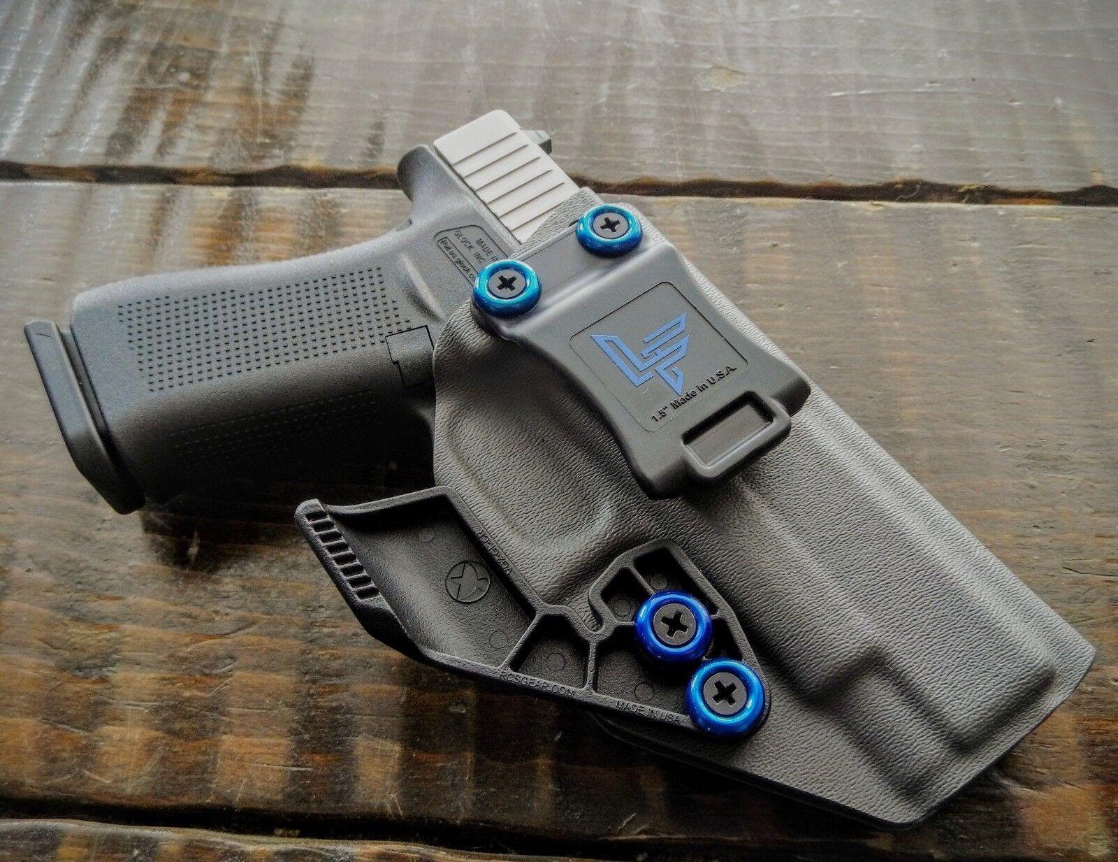 Legado armas de fuego Co Glock 48 apéndice Carry Holster Gunmetal gris