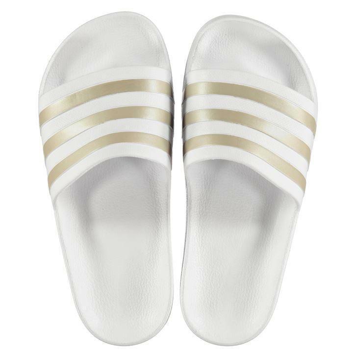 Ladies Girls Adidas Sliders Sandals shoes Slip Ons Sports Beach Pool Flip Flop