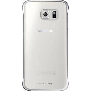 Samsung-Protection-Slimline-Clip-Arriere-coque-pour-Galaxy-S6-Argent-Bord