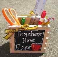 Teacher Gifts- Handmade - Teacher Boxes
