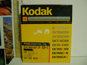 Kodak-Diagnostic-Film-IB-1-100-COUNT-8-034-x-10-034-Great-Collectible-AS-IS