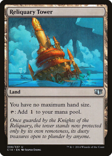 MTG X1: Reliquary Tower U Commander 2014 Light Play FREE US SHIPPING!