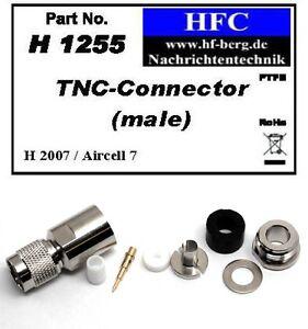 1-Stueck-TNC-Stecker-fuer-H-2007-Aircell-7-Highflexx-7-Koaxkabel-50-H1255