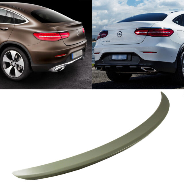 For Mercedes Benz Glc Class Coupe Glc300 Glc250 Spoiler: 17 20 For Mercedes BENZ GLC C253 X253 Coupe D Type Boot