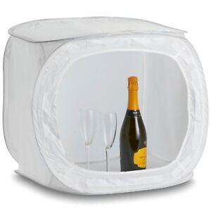 50CM Photography Studio Soft Light Box Photo Tent Cube 4 Colour Backdrop 5060147552157