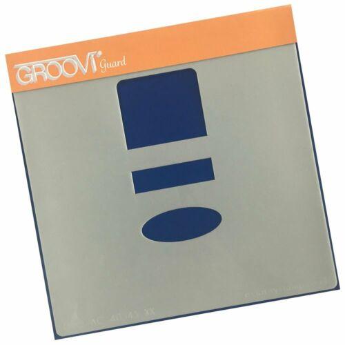"""Clarté timbres GROOVI Guard 7/"""" X 7/"""" GRO-AC-40345-XX Bouclier Protecteur pour Stenci"""