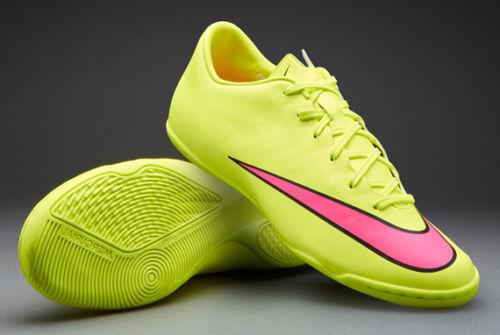 Nike Mercurial Victory V Ic Fútbol Indoor Cr7 Zapatos Voltio   Negro   Hiper Pi