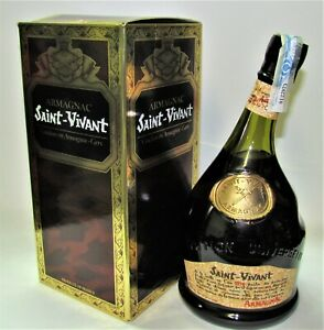 1-x-ARMAGNAC-SAINT-VIVANT-70cl-40-Boxed-OLD-EDITION