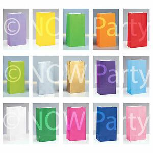 Paper Party Loot Treat Candy Gift Sweet Bags** BUY ONE GET ONE FREE**