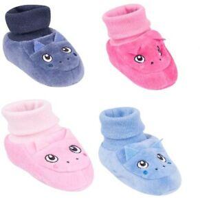 Baby Boy Girl Calzini Scarpe gli Occhi liberi di pressione rosa blu morbida