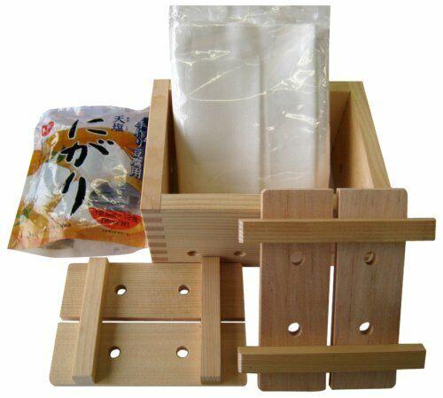 Tofu Maker Kit Giapponese Cypress Stampi Fatto in Casa F//S