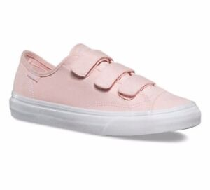 3fc639a43297c7 VANS Prison Issue (Canvas Suede) Rose Quartz Pink WOMEN S SIZE 9.5 ...