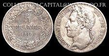 Belgique 5 Francs 1849 Léopold 1er SUP Argent