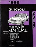1995 Toyota Avalon Factory Service Manual Original Shop Repair XL XLS