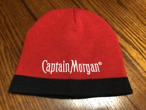 c11776450aa48 Image is loading Captain-Morgan-Spiced-Rum-Red-Winter-Cap-Beanie-